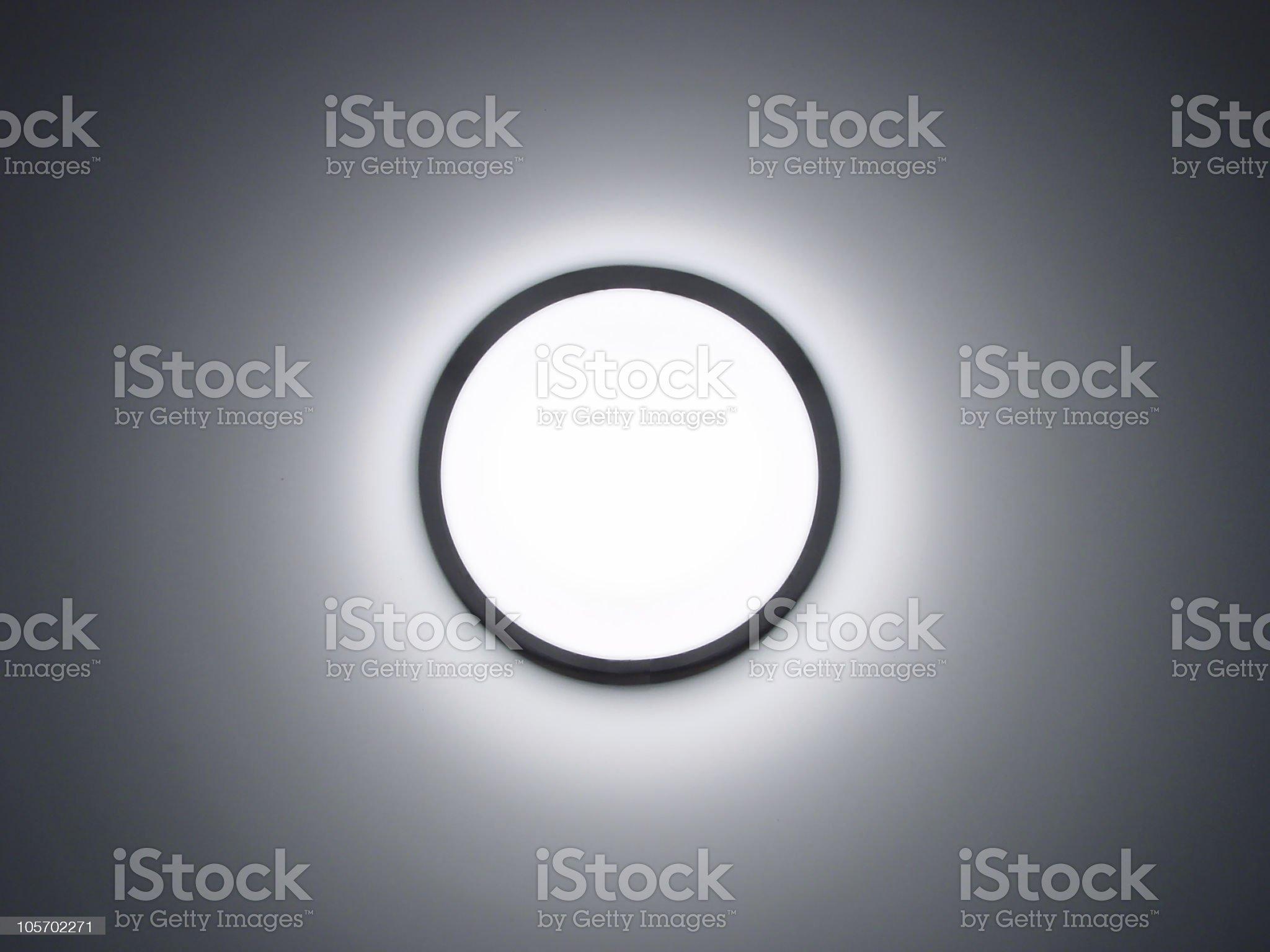 Iluminate - Lamp on royalty-free stock photo