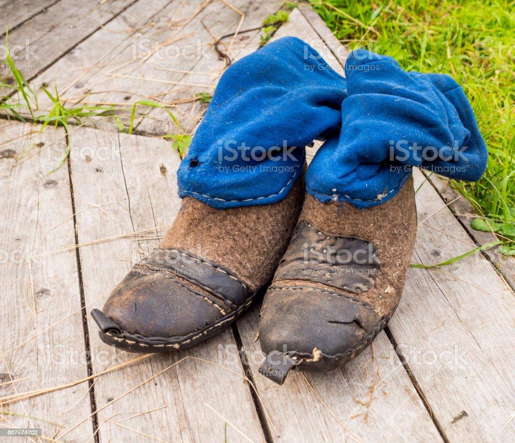ilych hunting boots stock photo