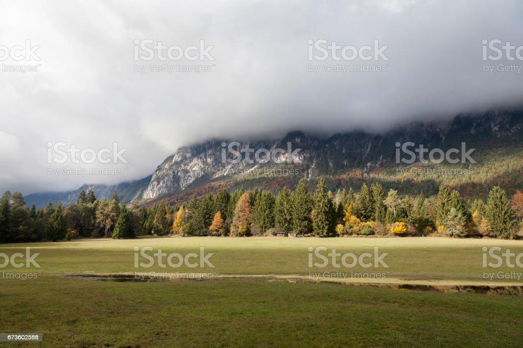Im Gailtal, Kärnten stock photo