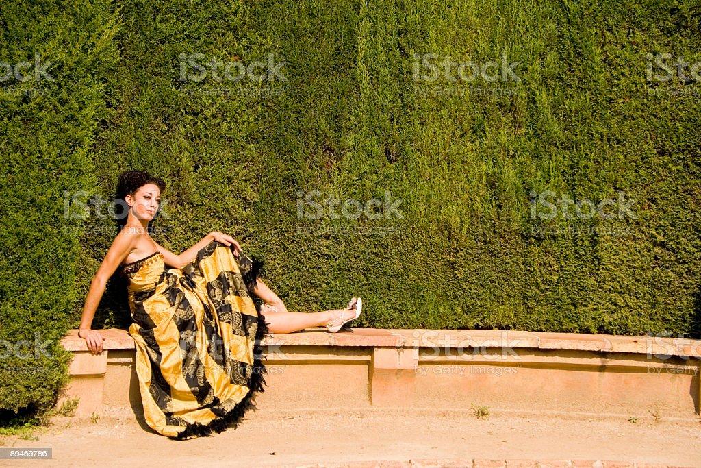 I,m waiting... stock photo