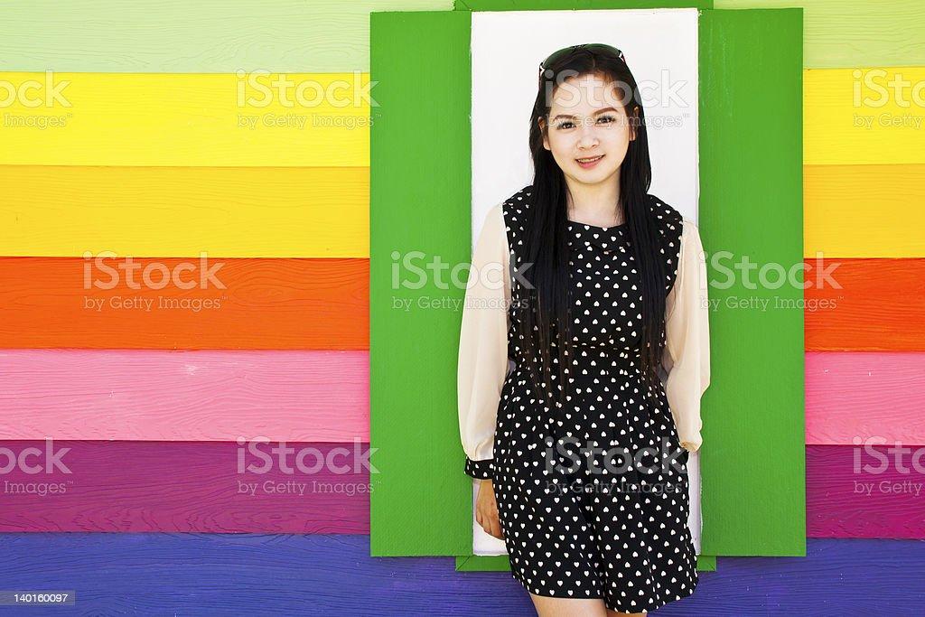 Obraz piękna Dziewczyna zbiór zdjęć royalty-free