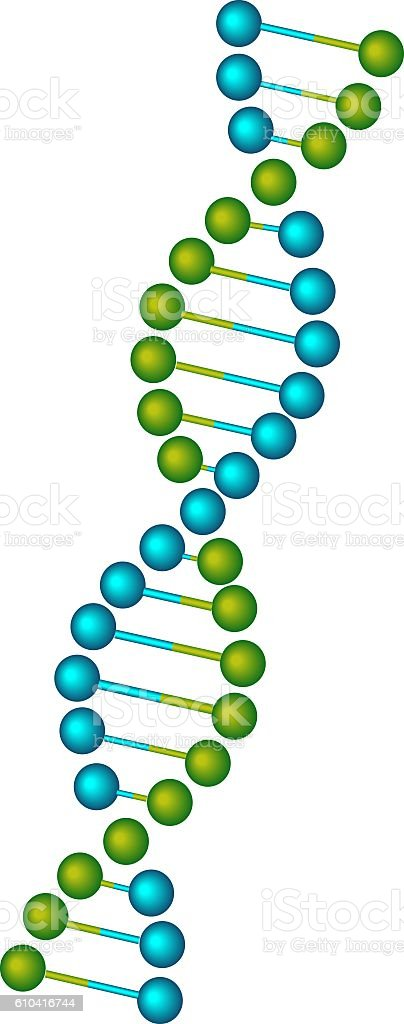 image of a dna stock photo