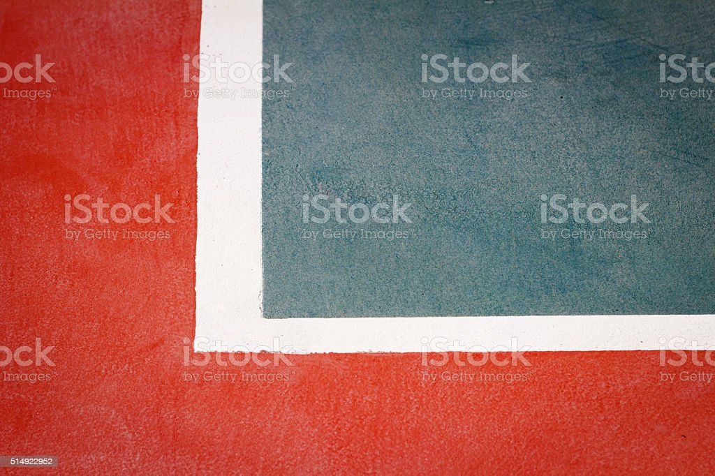 Image of a tennis court detail stock photo