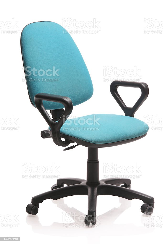 Image of an office chair royalty-free stock photo