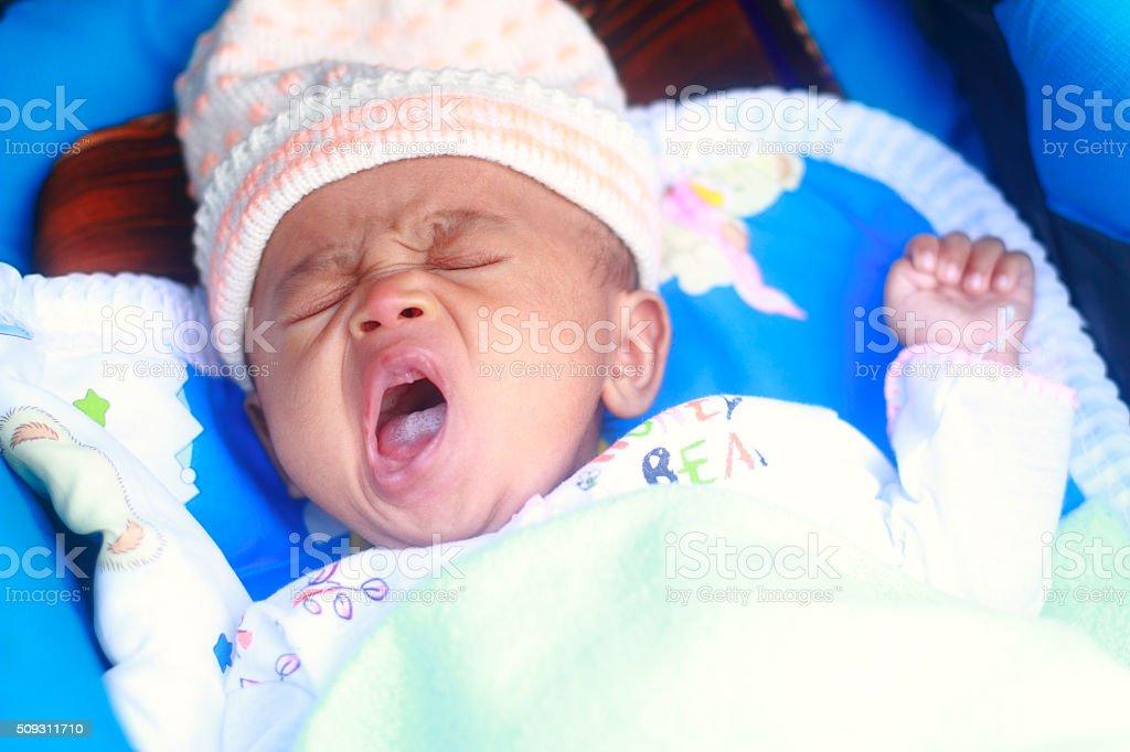 Bild von Baby Junge Schlaf Lizenzfreies stock-foto