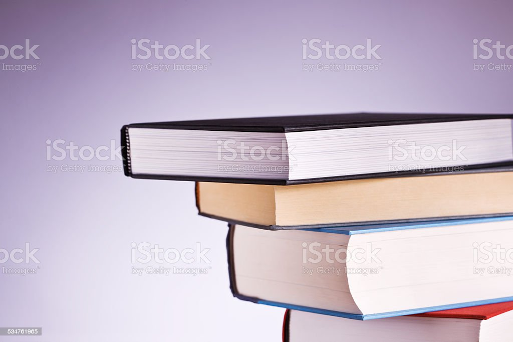 Image of books over a background stock photo