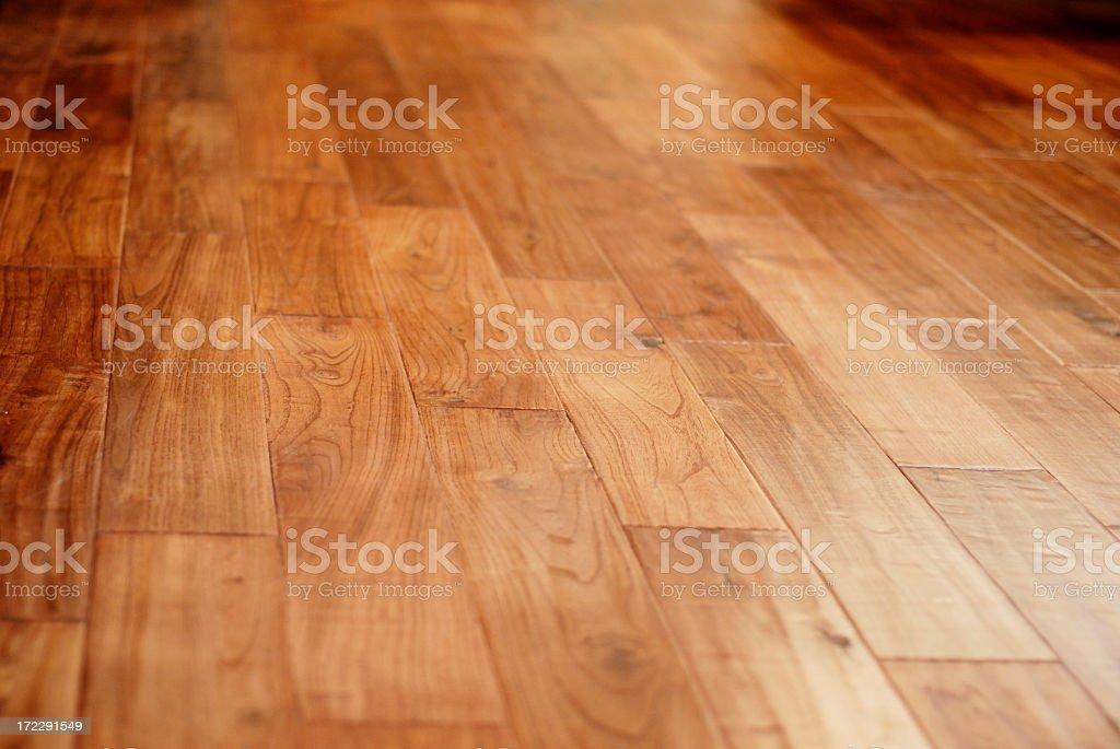 Image of brown hardwood floors royalty-free stock photo