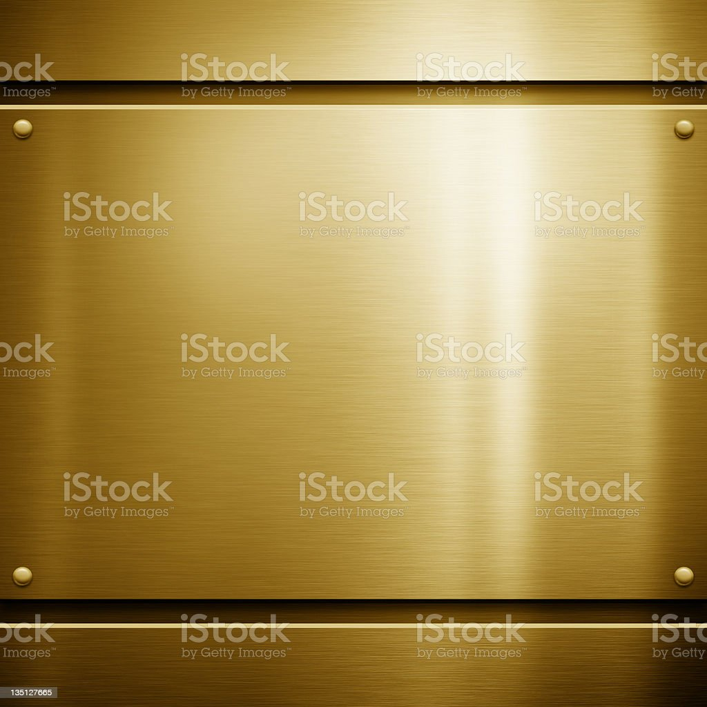 Image of gold, shiny, metal background stock photo