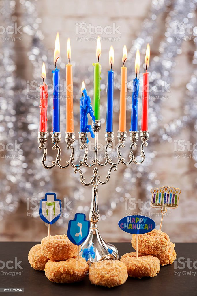 Jewish holiday Image of jewish holiday Hanukkah background with...