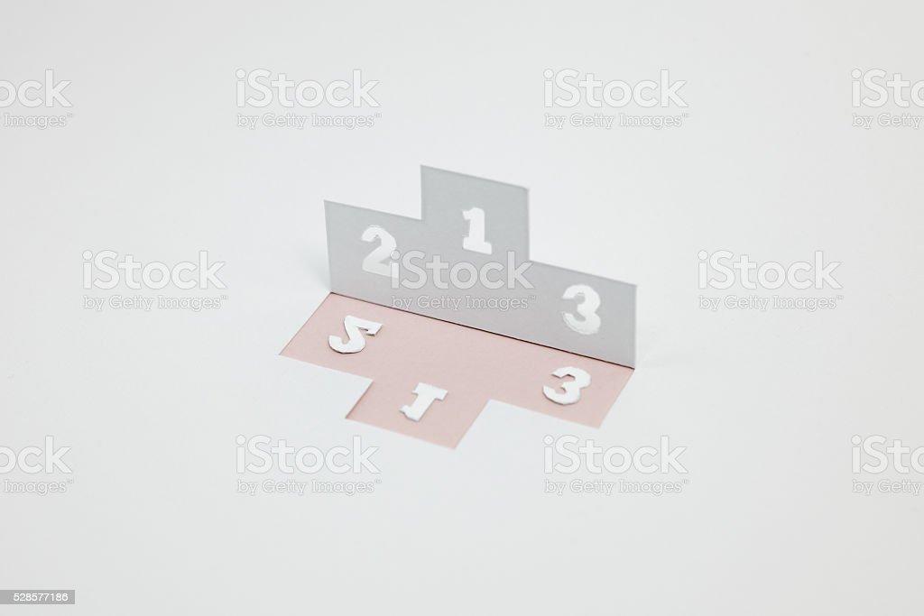 Image de la commande, le classement (La rose) photo libre de droits