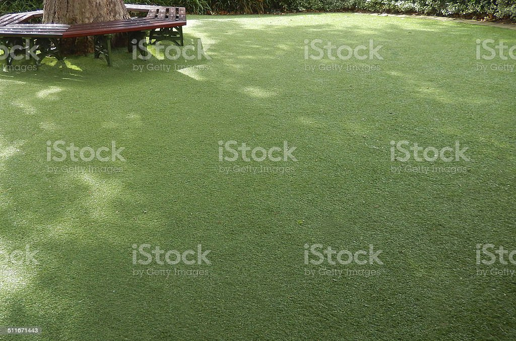 Image of plastic, synthetic, afrificial lawn grass, artificial turf, fake stock photo