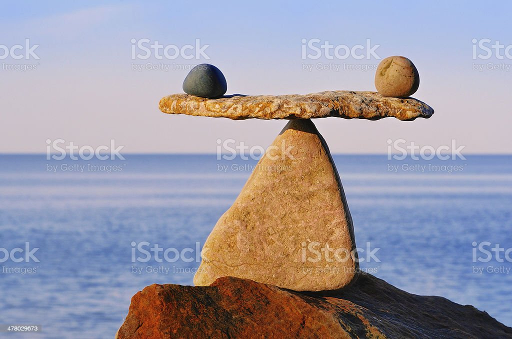 Image of scales stock photo