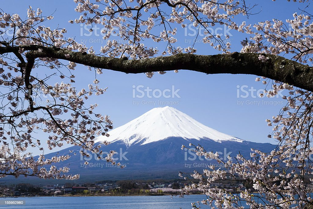 Image of spring in Japan royalty-free stock photo