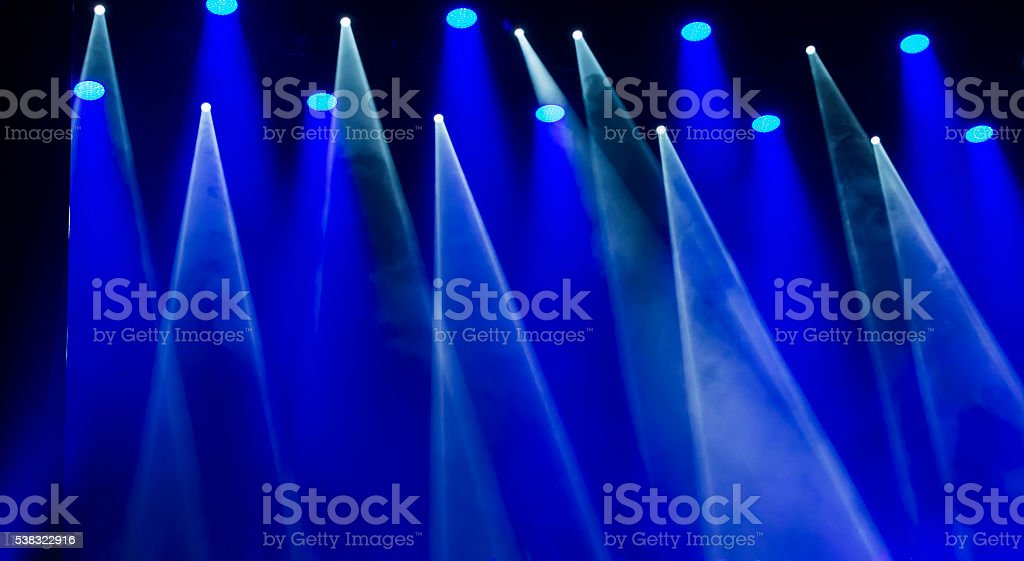 image of stage lighting effects stock photo