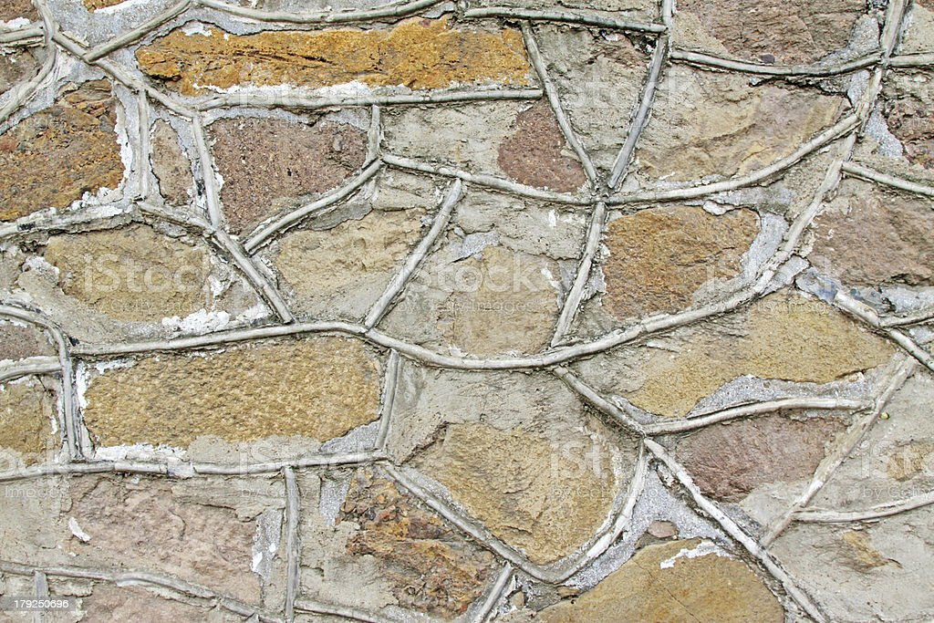 image of stone walls royalty-free stock photo