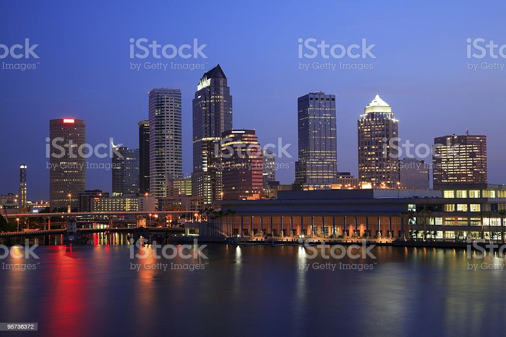 Image of the city Tampa in Florida stock photo