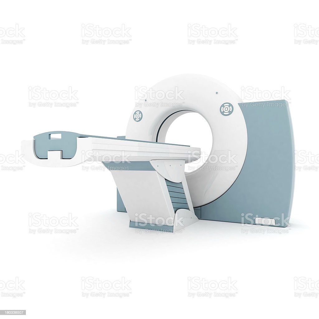 MRI image of the device royalty-free stock photo