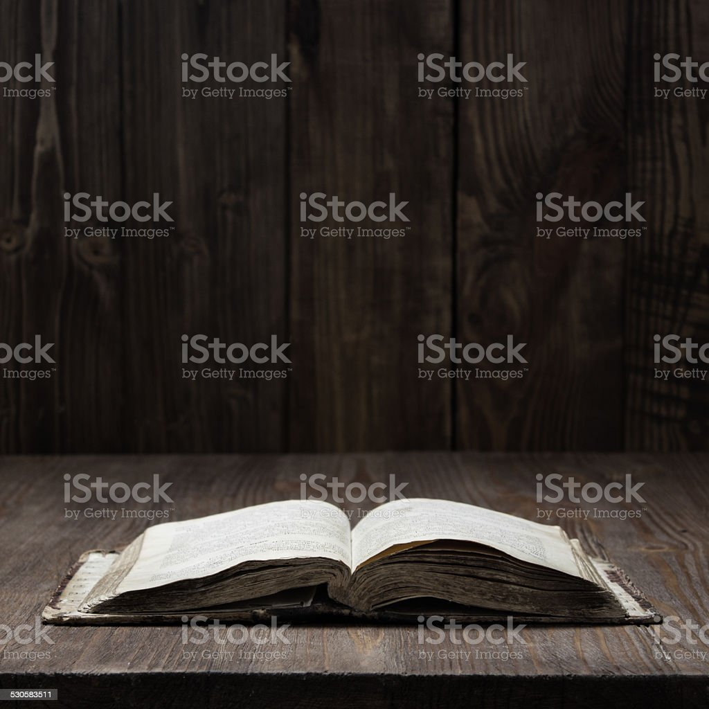 Image of the Holy Bible stock photo