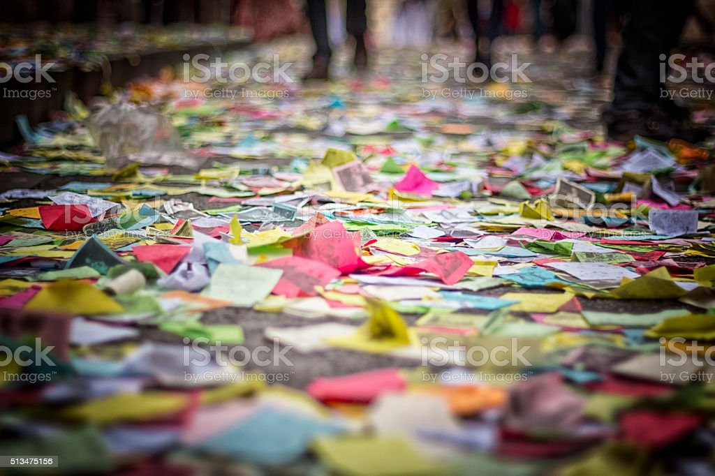 Image of the popular festival of Aleluyas stock photo