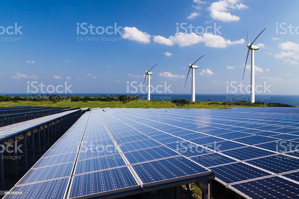 Image of the renewable energy stock photo