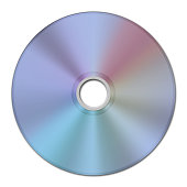 2D image texture of a CD or Compact Disc