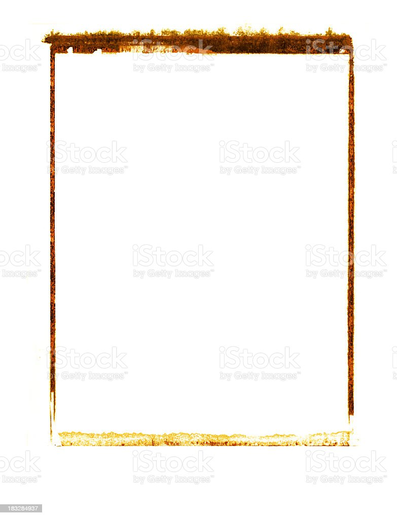 Image Transfer Frame royalty-free stock photo