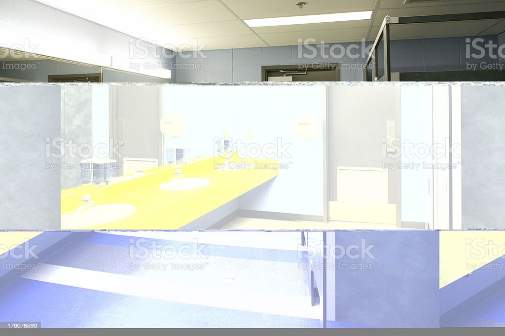 Images of a clean modern bathroom stock photo