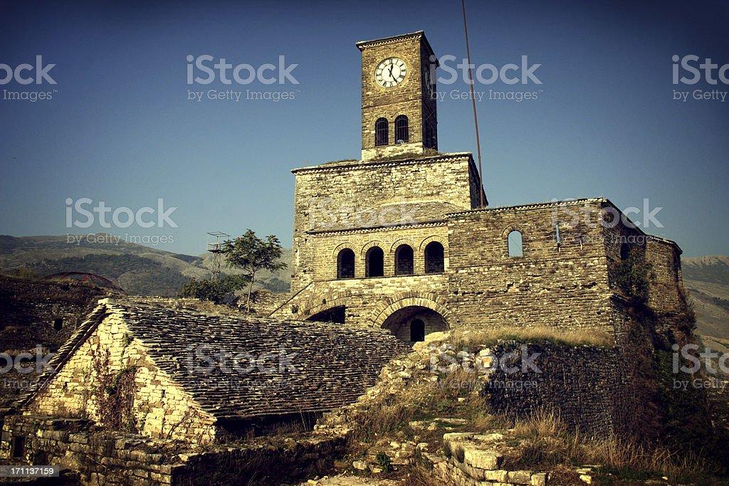 Images of Albania | Fortress in Gjirokastra royalty-free stock photo