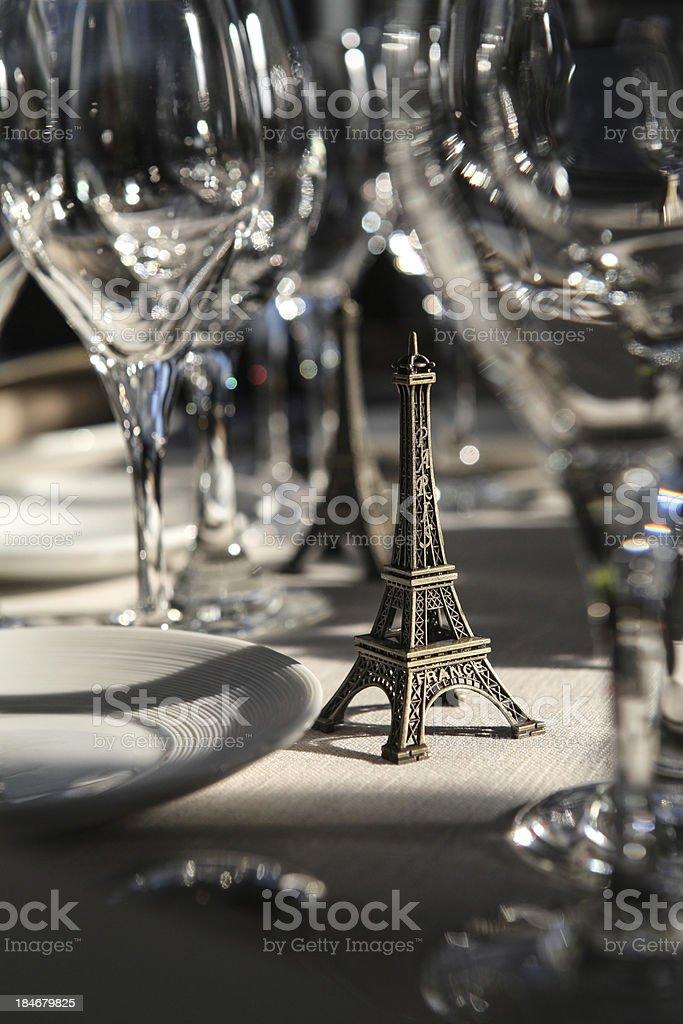Imagin Paris stock photo