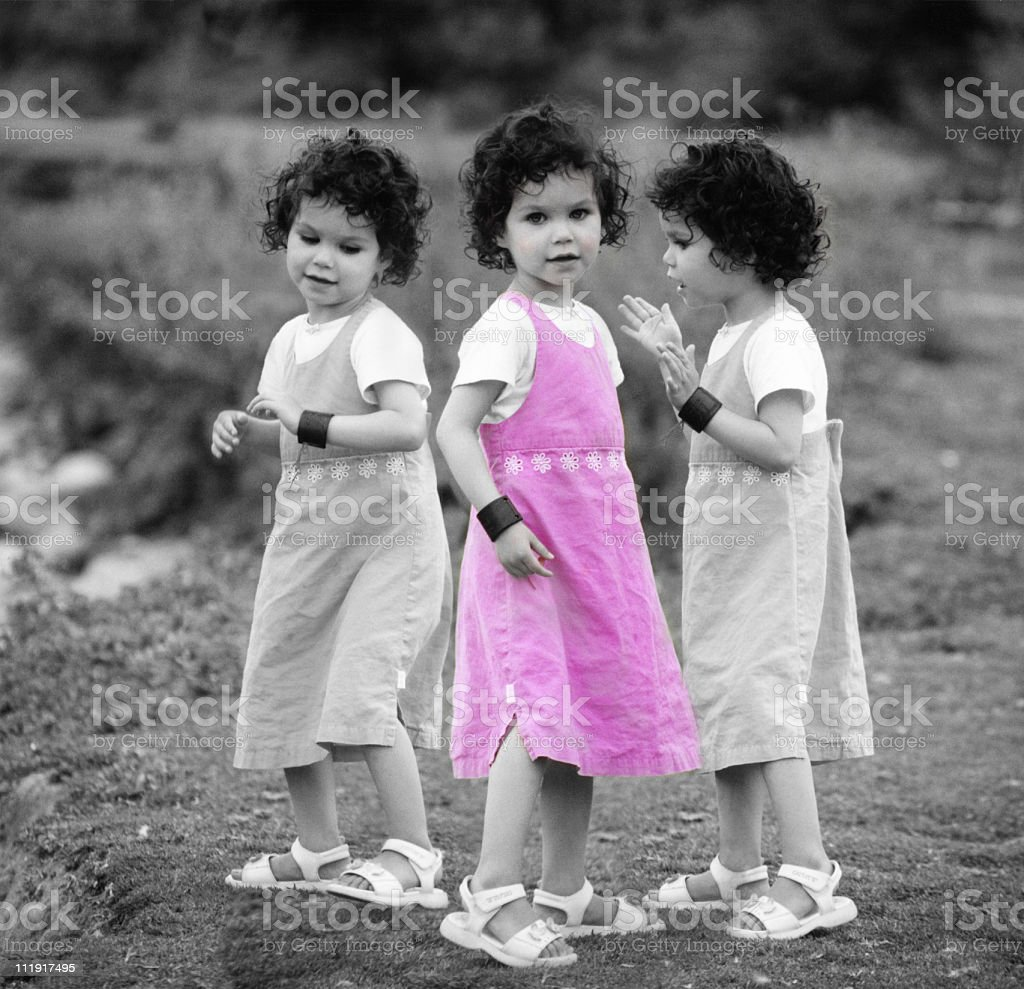 Imaginary Friends stock photo