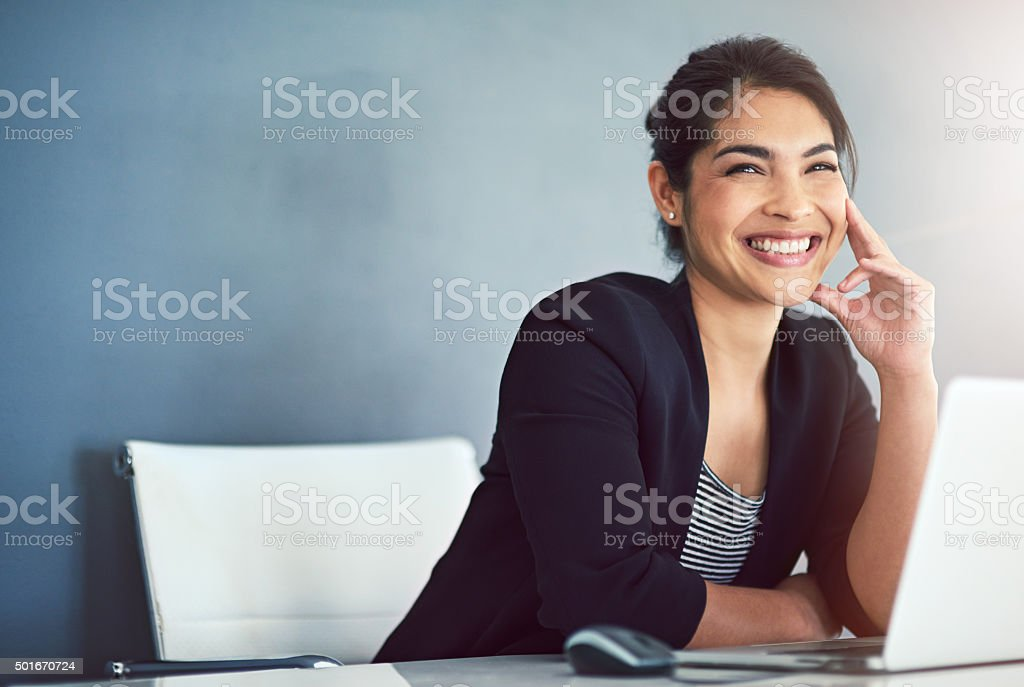 Imagine, believe, achieve stock photo