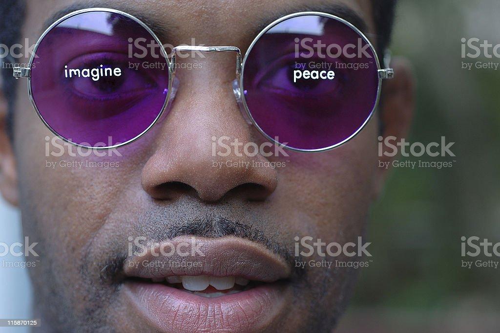 Imagine Peace royalty-free stock photo