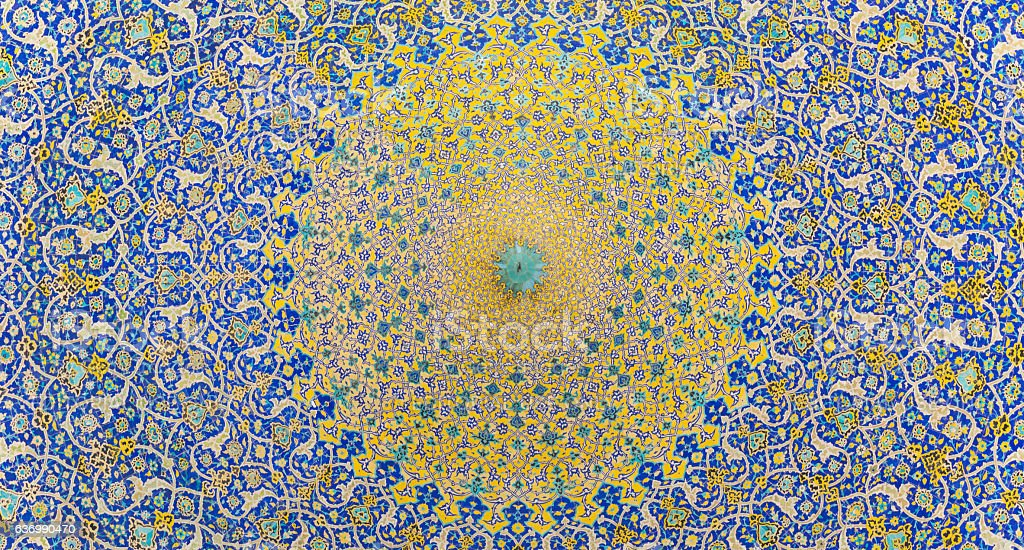 Imam Mosque (Masjed-e Imam)  in Isfahan, Iran stock photo