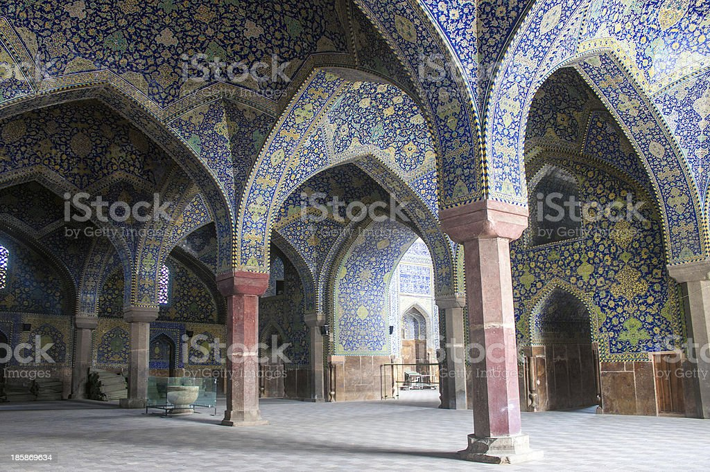 Imam Mosque in Isfahan stock photo