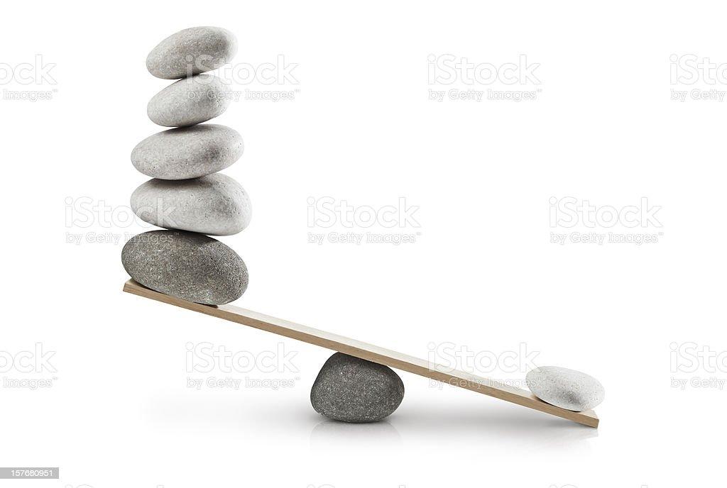 Imbalance stock photo