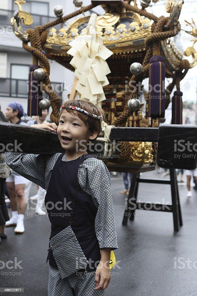 imitate mikoshi stock photo