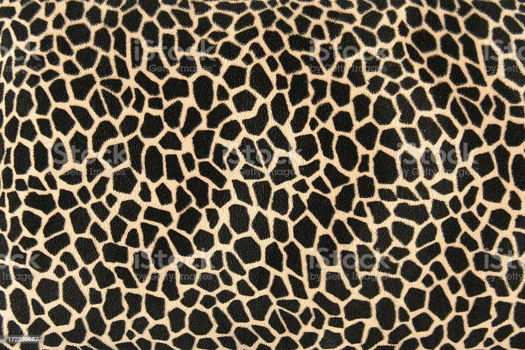 Imitation Giraffe Skin Pattern Background stock photo