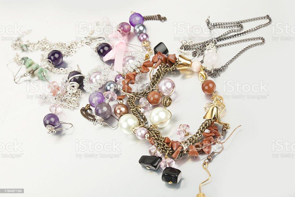 imitation jewellery royalty-free stock photo