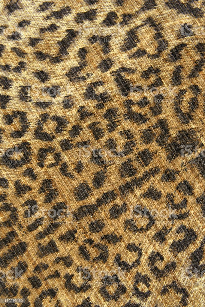 Imitation Leopard Skin Background Close Up royalty-free stock photo