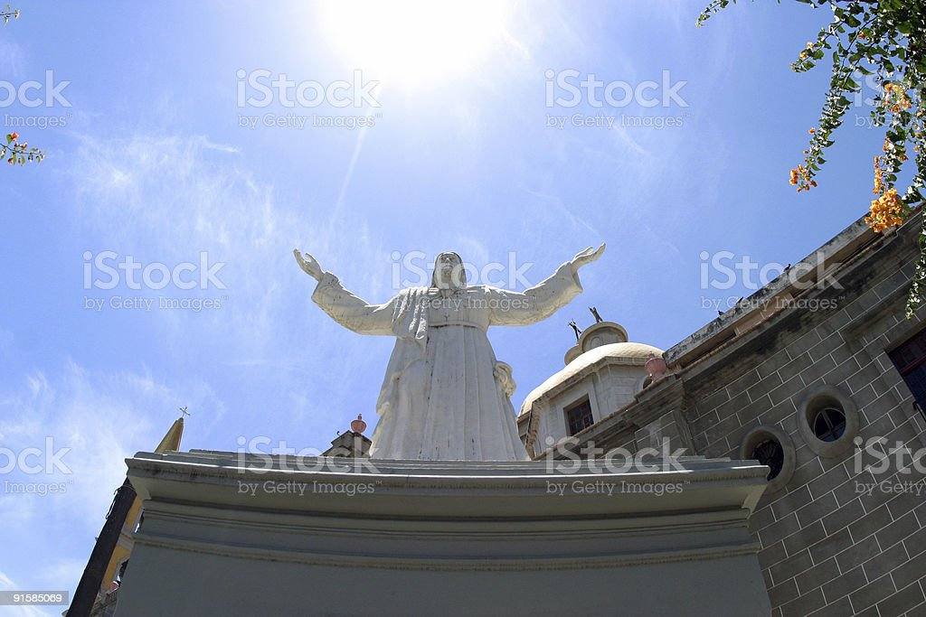 Immaculate Conception Basilica statue royalty-free stock photo