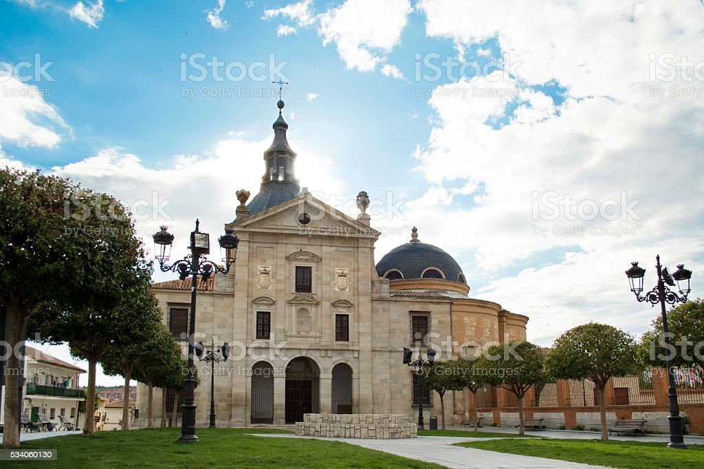Immaculate Conception Monastery, Loeches, Madrid stock photo