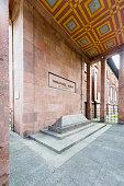 Immanuel Kant's grave in Kaliningrad, Russia