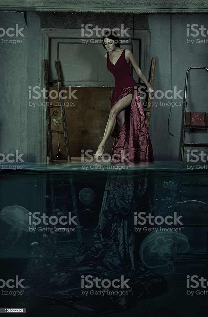 immersion stock photo