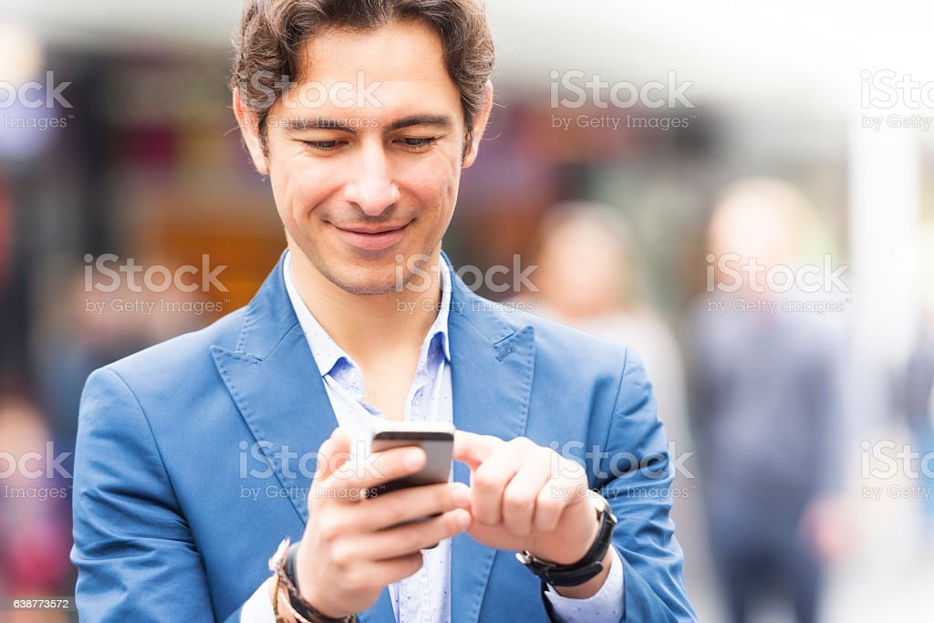Immigrant professional in Europe stock photo