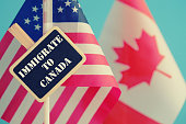Immigrate to Canada conceptual image