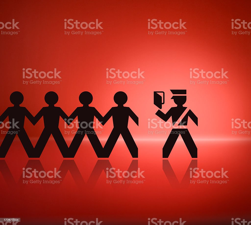 Immigration Issues stock photo