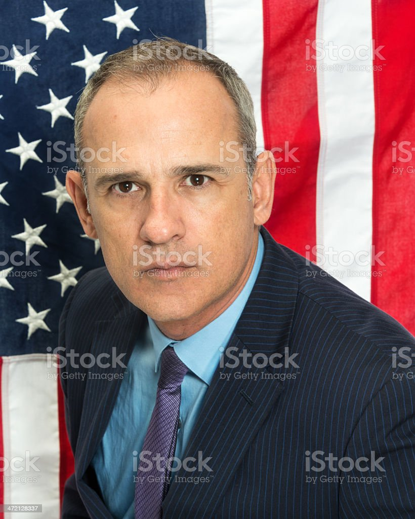 Immigration Lawyer/Politician royalty-free stock photo