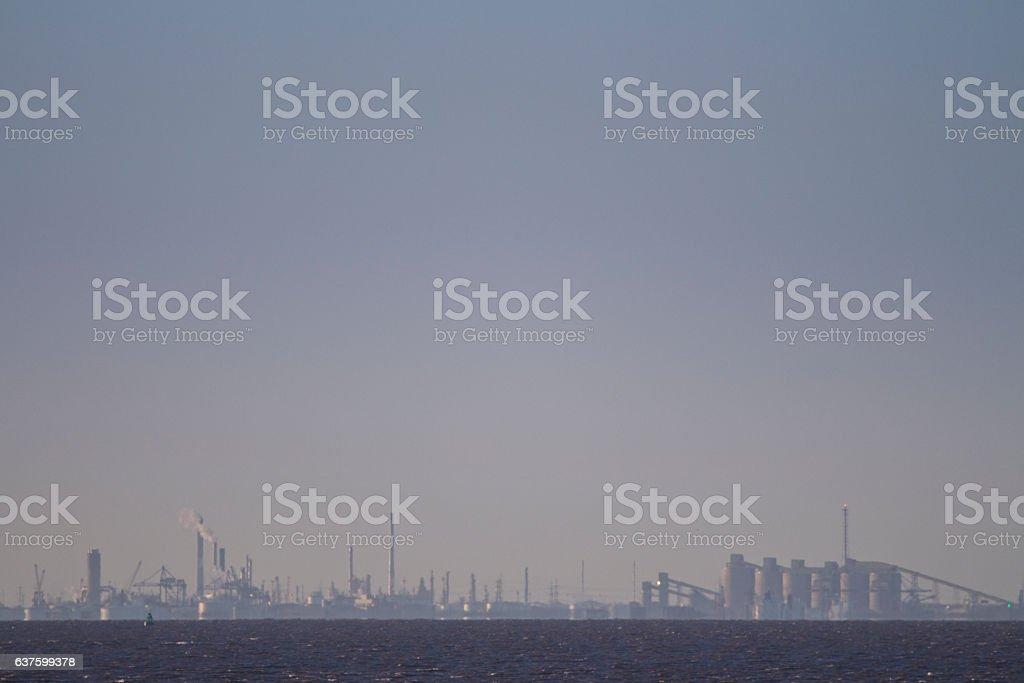Immingham Docks stock photo