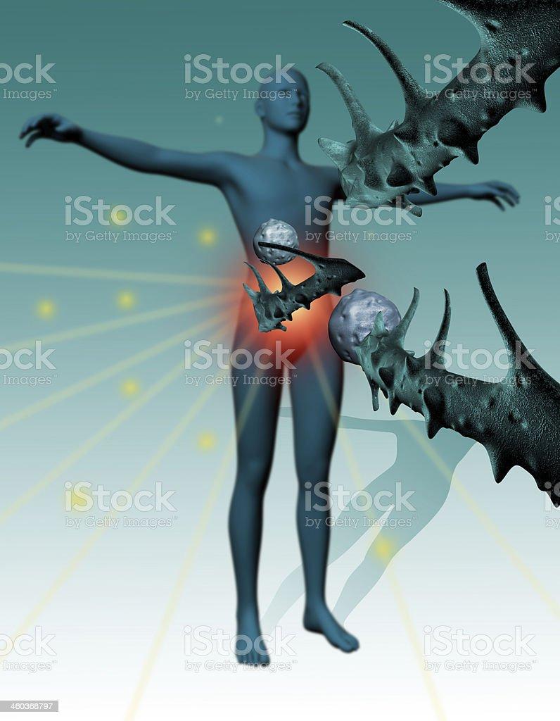Immunity Against Diseases royalty-free stock photo