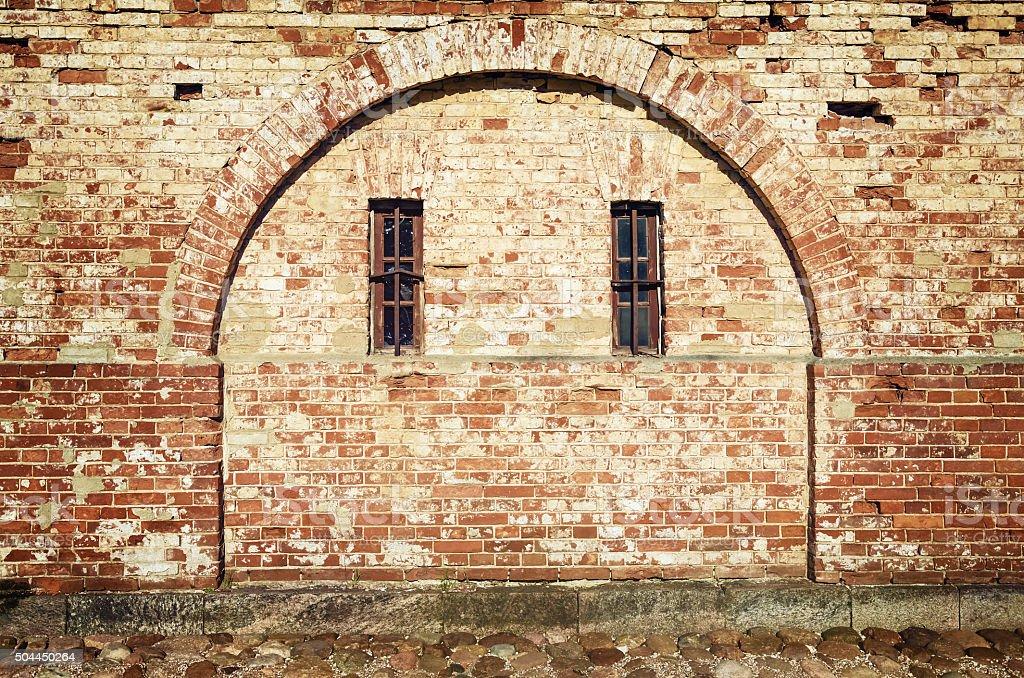 Immured Arch stock photo